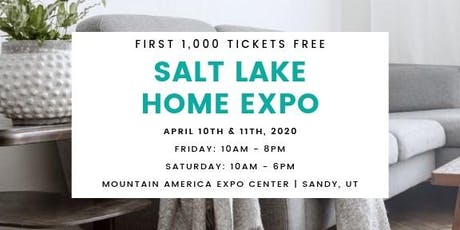 Salt Lake Home Expo tickets
