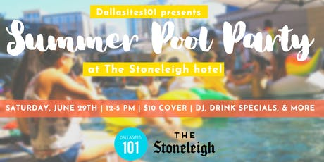 Summer Pool Party at The Stoneleigh tickets