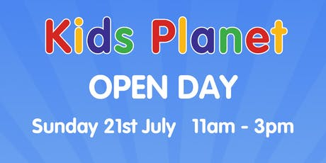 Kids Planet Higher Broughton Summer Open Day tickets