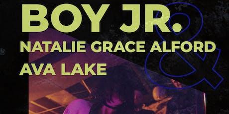 Natalie Grace Alford • Boy Jr. • Ava Lake tickets