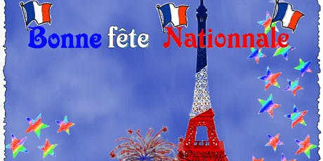 FRENCH NATIONAL DAY billets