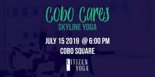 Cobo Cares - Yoga with Citizen's Yoga