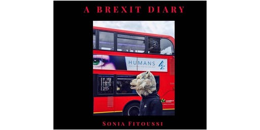 """Book Signing, """" A Brexit Diary"""" ,  by photographer Sonia Fitoussi"""