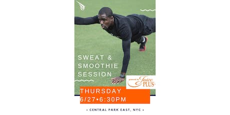 Sweat & Smoothie Session  tickets