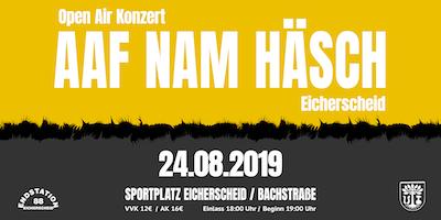 AAF NAM HÄSCH Open Air 2019