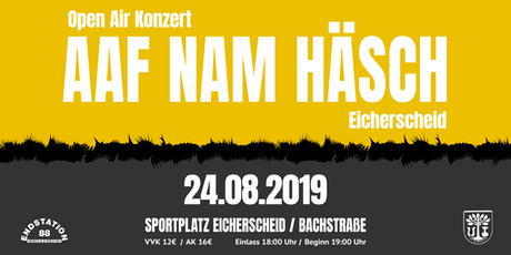 AAF NAM HÄSCH Open Air 2019 Tickets
