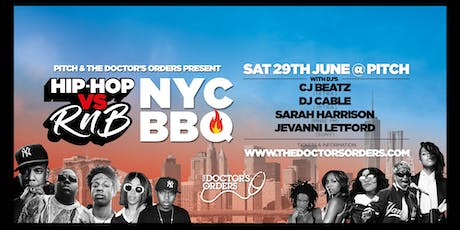 Hip-Hop vs RnB – NYC BBQ tickets