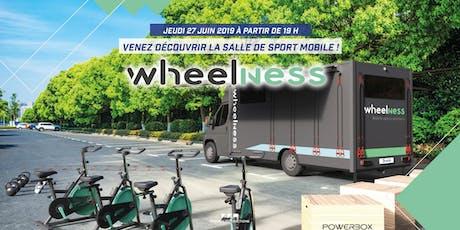 Venez découvrir un concept unique : la première salle de sport mobile ! billets