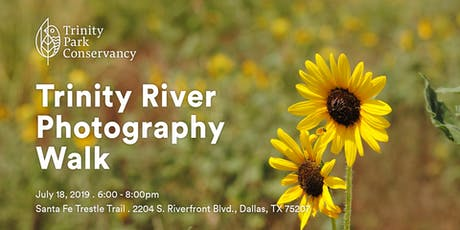 Trinity River Photography Walk: Santa Fe Trestle Trail tickets