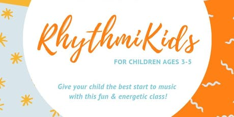 RhythmiKids - Music Fundamentals for ages 3-5 - September Session tickets
