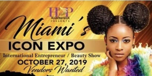 Miami's Icon Expo International Entrepreneur/ Beauty Show