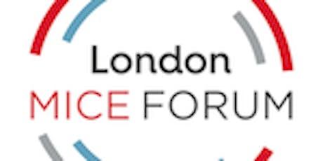 London MICE Forum - February 2020 tickets