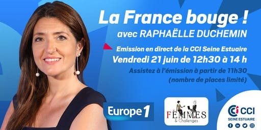 """La France Bouge"" Émission Europe 1 - 21/06 - 12h30 - 14h"