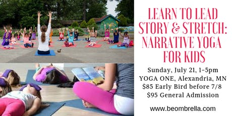 Learn to Lead Story & Stretch: Narrative Yoga for Kids tickets