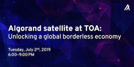 Algorand Berlin/TOA Meetup: Unlocking a global, borderless economy Tickets
