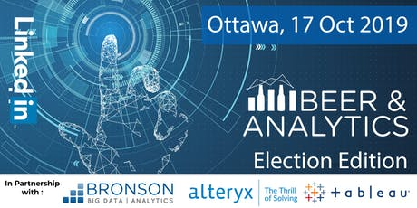 Beer and Analytics - Election Edition - Ottawa tickets
