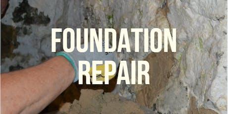 Foundation Repair Workshop tickets