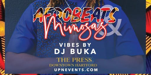 AFROBEATS & MIMOSAS @ THE PRESS | Free Entry & Unlimited Free Mimosas 1-2p