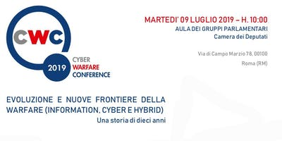 Cyber Warfare Conference CWC - 10° Edizione