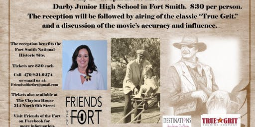The Duke, Fort Smith and True Grit