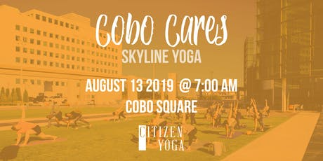 Cobo Cares Yoga - with Citizen's Yoga tickets