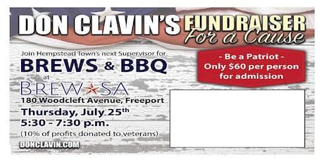 Don Clavin's Brews & BBQ tickets