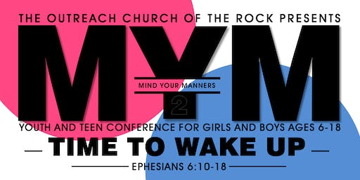 Mind Your Manners Youth Conference