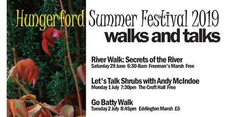 Secrets of the river walk at Freeman's Marsh, Hungerford (Summer Festival) tickets