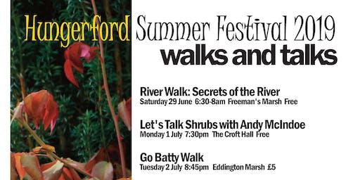 Secrets of the river walk at Freeman's Marsh, Hungerford (Summer Festival)