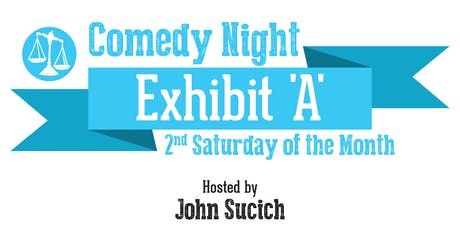 July Comedy Night at Exhibit 'A' Brewing tickets