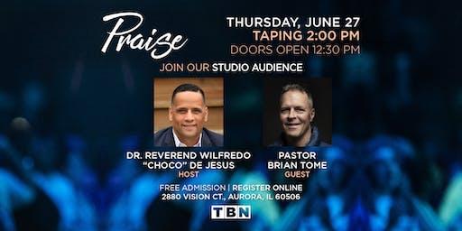 "IL - Dr. Reverend Wilfredo ""Choco"" De Jesus hosts Pastor Brian Tome"