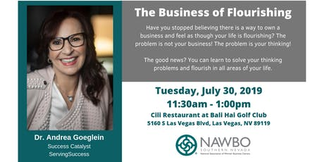 NAWBO SNV: Business Lunch - The Business of Flourishing (NEW DATE) tickets