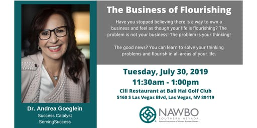 NAWBO SNV: Business Lunch - The Business of Flourishing (NEW DATE)