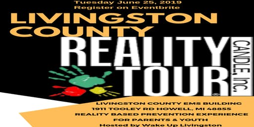 LIVINGSTON COUNTY REALITY TOUR- Tuesday June 25 2019