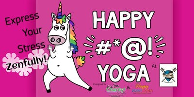 Happy #*@! Yoga-For Charity at Panther Island Brewing