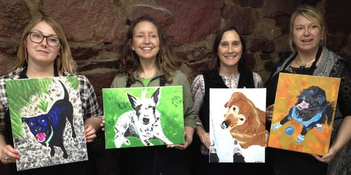 Summer Solstice Paint Your Pet Party: Fundraiser for Rifle Animal Shelter