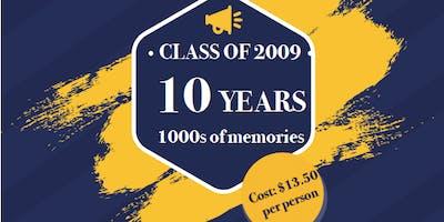 Class of 2009 Ten Year Class Reunion!