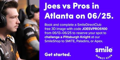 Esports Joes v. Pros tickets