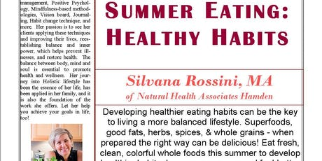 Summer Eating: Healthy Habits tickets