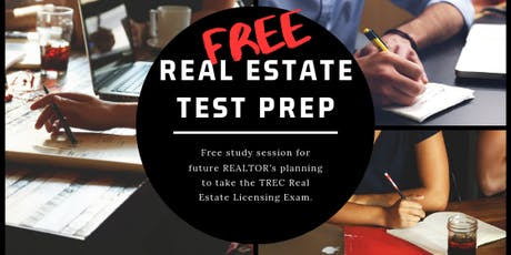 FREE TREC Real Estate Licensing Test Prep Session tickets