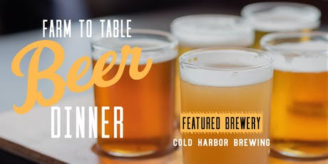 Farm to Table Beer Dinner at Tower Hill Botanic Garden tickets