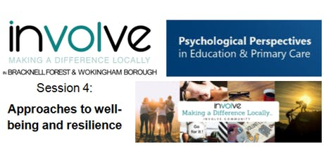involve PPePCare Training - Resilience - Approaches to Wellbeing tickets
