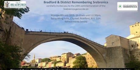 Srebrenica Memorial - Bridging the Divide tickets