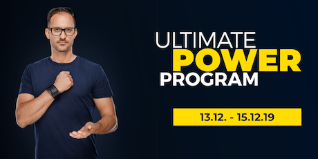 ULTIMATE POWER PROGRAM tickets