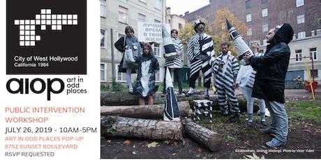 Art in Odd Places, Public Intervention Workshop tickets