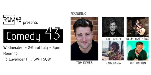 Comedy 43 - 19th of June