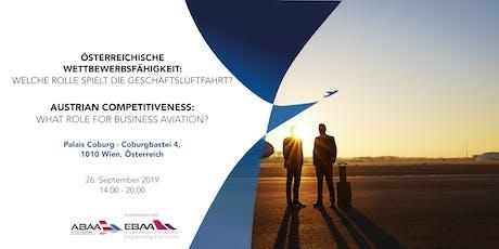 Österreichische Wettbewerbsfähigkeit: Welche Rolle spielt die Geschäftsluft tickets