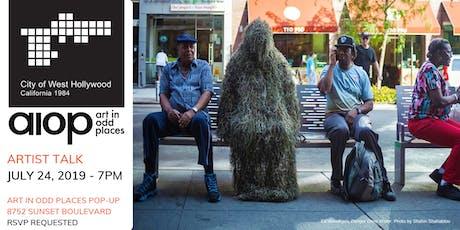 Artist Talk: Ed Woodham, Art in Odd Places tickets