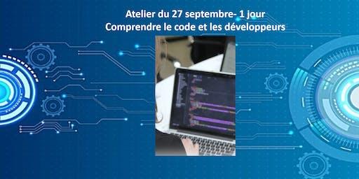Atelier Comprendre le code et les développeurs - 1 JOUR