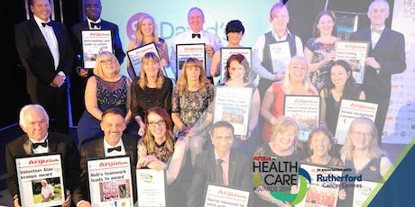 South Wales Argus Health & Care Awards 2019 tickets